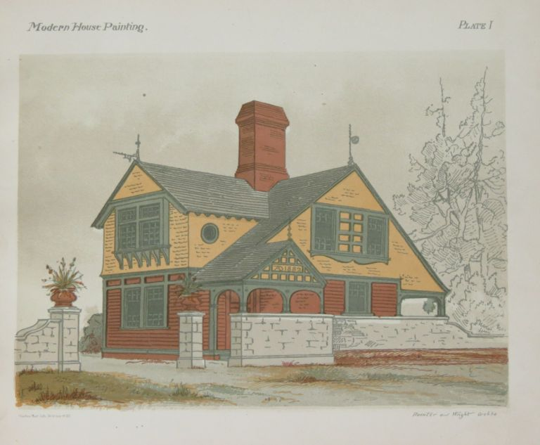 Modern House Painting:. E. K. Rossiter, F. A. Wright.