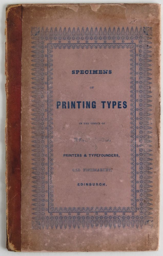 SPECIMENS OF PRINTING TYPES. Neill, Co.