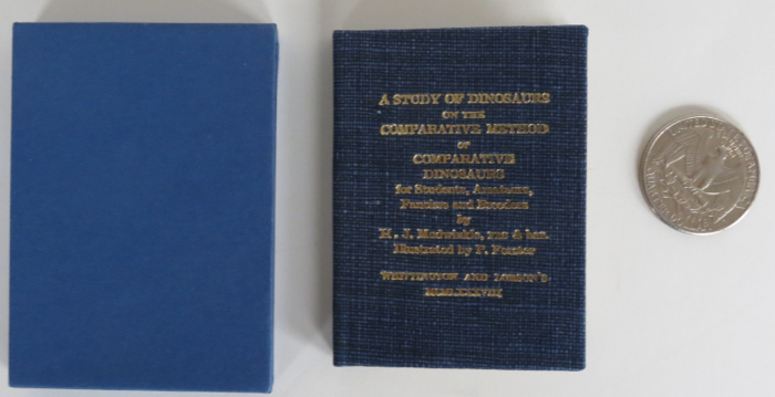 A Study of Dinosaurs, on the Comparative Method, or Comparative Dinosaurs for Students, Amateurs, Fanciers and Breeders. By H. J. Mudwinkle. Whittington Press.