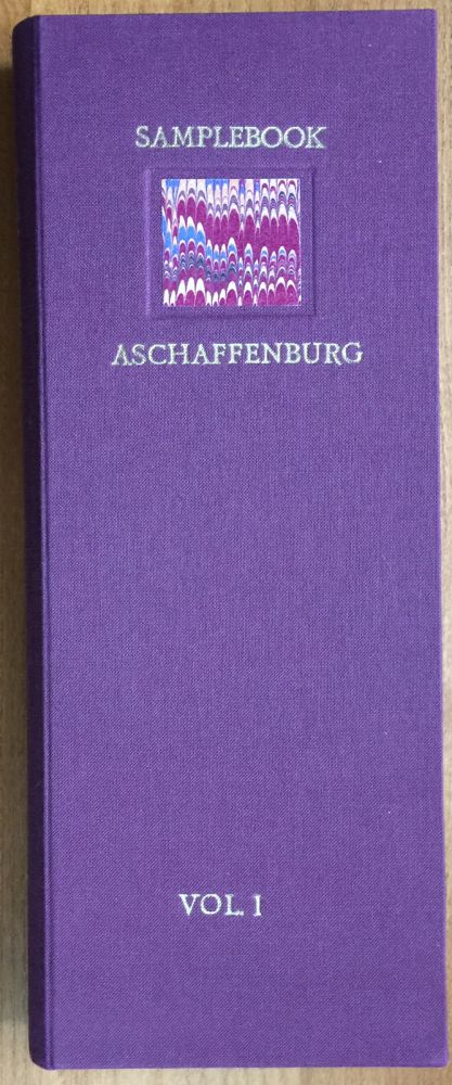 Sample Book of the Fancy Paper Factory Aschaffenburg. Karli Frigge.