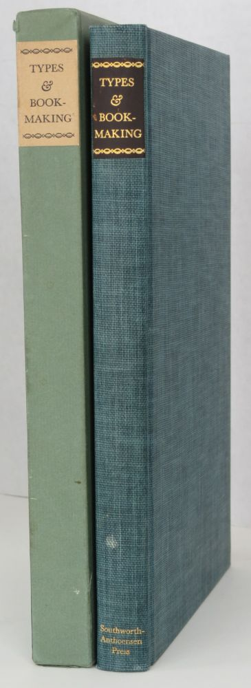 TYPES AND BOOKMAKING, Fred Anthoensen.