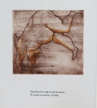 GLUTTONS FOR RAPTURE/DEFECATING ANGELS. Two Poems and Etchings by Michael Kuch.