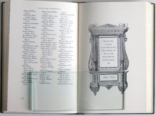 A CHECKLIST OF BOOKS PUBLISHED BY WILLIAM PICKERING 1820-1853.