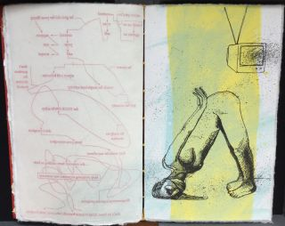LOVER/LOSER. Diagram poems by Egil Dennerline with Lithographs by Thorsten Dennerline.