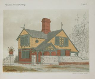 Modern House Painting:. E. K. Rossiter, F. A. Wright