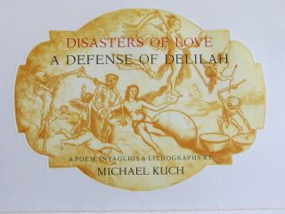 DISASTERS OF LOVE – A DEFENSE OF DELILAH.
