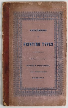 SPECIMENS OF PRINTING TYPES. Neill, Co