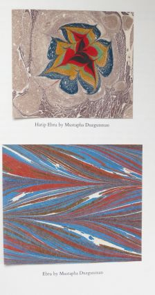 MARBLING: A HISTORY AND A BIBLIOGRAPHY. Phoebe Jane Easton