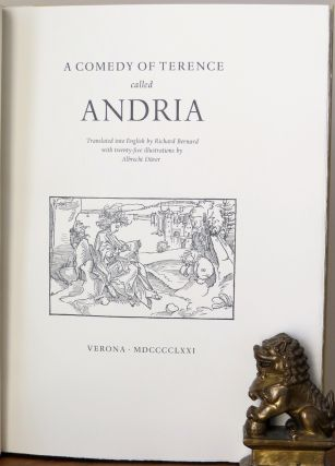 ANDRIA. A Comedy by Terence. Terence
