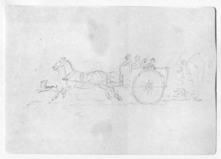 THOMAS BEWICK, TEN WORKING DRAWING REPRODUCTIONS SHOWN WITH IMPRESSIONS OF THE CORRESPONDING ENGRAVINGS.