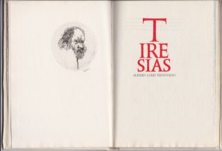 TIRESIAS. Alfred Gehenna Press. Tennyson.