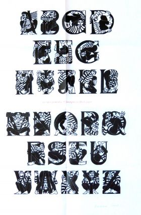 AN ACROBATIC ALPHABET. Barbara Crow.