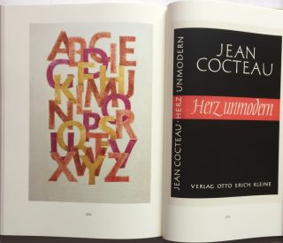 GUDRUN ZAPF VON HESSE. Bindings, Handwritten Books, Typefaces, Examples of Lettering and Drawings.