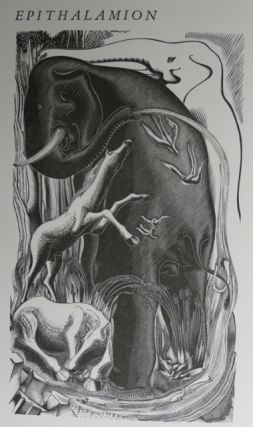 EPITHALAMION. A Poem by Ida Graves with associate wood-engraving by Blair Hughes-Stanton.