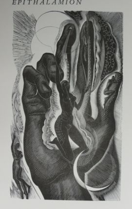 EPITHALAMION. A Poem by Ida Graves with associate wood-engraving by Blair Hughes-Stanton. Ida Graves.