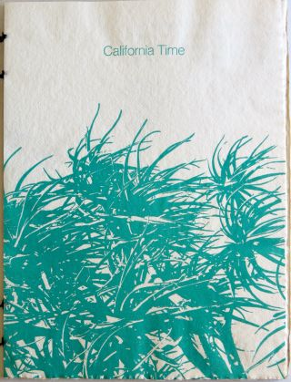 California Time. Gunnar Kaldewey.