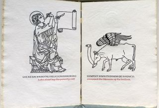 DE QUATUOR EVANGELISTIS. Anvil Press. C. Sedulius.