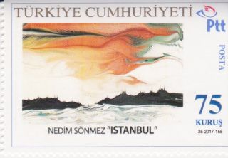 "Sonmez on Stamps II: ""Marbled Landscapes."""