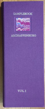 Sample Book of the Fancy Paper Factory Aschaffenburg. Karli Frigge