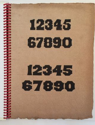 The Numerology of Wood Type.
