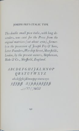 TYPES AND BOOKMAKING,