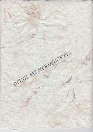 "The Art of the Book--""Sketchbooks."" Douglass Morse Howell"