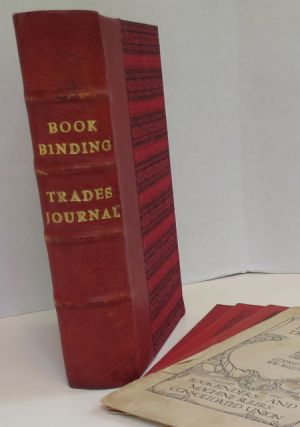THE BOOKBINDING TRADES JOURNAL. 31 issues. Bookbinding